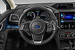 Car pictures of steering wheel view of a 2020 Subaru Crosstrek Hybrid 5 Door SUV Steering Wheel