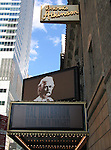 Hal Holbrook stars in the Most Acclaimed One Man Show on Broadway, MARK TWAIN TONIGHT at the Brooks Atkinson Theatre in New York City..( Theatre Marquee ).June 16, 2005.© Walter McBride /  .