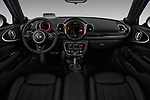 Stock photo of straight dashboard view of a 2019 Mini Clubman John Cooper Works ALL4 5 Door Wagon