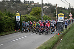 Km0 the start of Stage 5 of Paris-Nice 2021, running 200km from Vienne to Bollene, France. 11th March 2021.<br /> Picture: ASO/Fabien Boukla   Cyclefile<br /> <br /> All photos usage must carry mandatory copyright credit (© Cyclefile   ASO/Fabien Boukla)