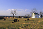 Henry Hill, Manassas National Battlefield Park, Virginia, USA, where the two armies engaged for the first time in the Civil War at a cost of nearly 900 lives. They met here again in August 1862, resulting in 3,300 soldiers killed.