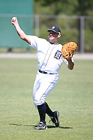 March 21st 2008:  Brandon Harrigan of the Detroit Tigers minor league system during Spring Training at Tiger Town in Lakeland, FL.  Photo by:  Mike Janes/Four Seam Images