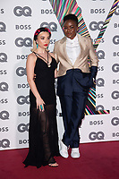 Nicola Adams and Partner<br /> arriving for the GQ Men of the Year Awards 2021 at the Tate Modern London<br /> <br /> ©Ash Knotek  D3571  01/09/2021
