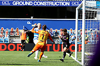 24th April 2021; The Kiyan Prince Foundation Stadium, London, England; English Football League Championship Football, Queen Park Rangers versus Norwich; Lyndon Dykes of Queens Park Rangers scores for 1-2 in the 71st minute