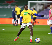 16th March 2021; Cardiff City Stadium, Cardiff, Glamorgan, Wales; English Football League Championship Football, Cardiff City versus Stoke City; Sheyi Ojo of Cardiff City warms up before the game