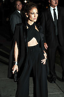 NEW YORK CITY, NY, USA - NOVEMBER 05: Jennifer Lopez arrives at the 'Late Show With David Letterman' held at the Ed Sullivan Theatre on November 5, 2014 in New York City, New York, United States. (Photo by Celebrity Monitor)