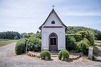 roadside chapel up the Rode Berg<br /> cycling hotspots & impressions in Heuvelland<br /> <br /> Cycling In Flanders <br /> Flanders Tourist Board<br /> <br /> ©kramon