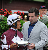 Shared Account wins Lake Placid Stakes at Saratoga Race Course