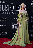 """LOS ANGELES, USA. September 30, 2019: Elle Fanning at the world premiere of """"Maleficent: Mistress of Evil"""" at the El Capitan Theatre.<br /> Picture: Jessica Sherman/Featureflash"""