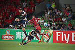 MELBOURNE VICTORY (AUS) vs SHANGHAI SIPG (CHN) during the 2016 AFC Champions League Group G Match Day 1 match on 24 February 2016 in Melbourne, Australia.