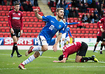 St Johnstone v St Mirren…27.10.18…   McDiarmid Park    SPFL<br />David Wotherspoon celebrates his goal<br />Picture by Graeme Hart. <br />Copyright Perthshire Picture Agency<br />Tel: 01738 623350  Mobile: 07990 594431