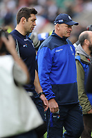 Vern Cotter, Scotland Head Coach, looks disappoionted during the RBS 6 Nations match between England and Scotland at Twickenham Stadium on Saturday 11th March 2017 (Photo by Rob Munro/Stewart Communications)
