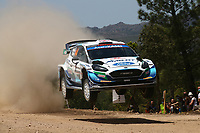4th June 2021; Alghero, Sardinia; WRC rally of Italia Sardinia, stages  1-8;  Gus Greensmith-Ford Fiesta WRC