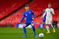 25th March 2021; Wembley Stadium, London, England;  John Stones England plys the ball forward during the World Cup 2022 Qualification match between England and San Marino at Wembley Stadium in London, England.