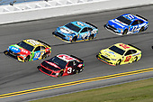 Monster Energy NASCAR Cup Series<br /> The Advance Auto Parts Clash<br /> Daytona International Speedway, Daytona Beach, FL USA<br /> Sunday 11 February 2018<br /> Kyle Busch, Joe Gibbs Racing, M&M's Toyota Camry, Austin Dillon, Richard Childress Racing, Dow Chevrolet Camaro, Kevin Harvick, Stewart-Haas Racing, Busch Beer Ford Fusion, Ryan Blaney, Team Penske, Menards/Peak Ford Fusion, Ricky Stenhouse Jr., Roush Fenway Racing, Fastenal Ford Fusion.<br /> World Copyright: John K Harrelson<br /> LAT Images