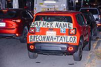 Breonna Taylor Protest - Black Lives Matter - Boston MA - 25 Sep 2020