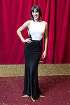 © Licensed to London News Pictures . 16/05/2015 .  The Palace Hotel , Manchester , UK . VERITY RUSHWORTH . The red carpet at the 2015 British Soap Awards , The Palace Hotel , Oxford Road , Manchester . Photo credit : Joel Goodman/LNP