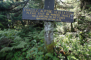 Appalachian Trail...Beaver Brook Trail during the summer months...Located in the White Mountains, New Hampshire USA .