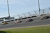 Monster Energy NASCAR Cup Series<br /> The Advance Auto Parts Clash<br /> Daytona International Speedway, Daytona Beach, FL USA<br /> Sunday 11 February 2018<br /> Kyle Busch, Joe Gibbs Racing, M&M's Toyota Camry, Erik Jones, Joe Gibbs Racing, Circle K Toyota Camry, Denny Hamlin, Joe Gibbs Racing, FedEx Express Toyota Camry, Martin Truex Jr., Furniture Row Racing, 5-hour ENERGY/Bass Pro Shops Toyota Camry<br /> World Copyright: John K Harrelson<br /> LAT Images