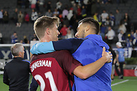 Carson, CA - Sunday January 28, 2018: Walker Zimmerman during an international friendly between the men's national teams of the United States (USA) and Bosnia and Herzegovina (BIH) at the StubHub Center.