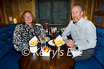 Catherine Gayson and Tom Brosnan enjoying the evening in the Mall Tavern.
