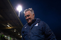 Barrow interim manager Rob Kelly at full time during the Sky Bet League 2 match between Forest Green Rovers and Barrow at The New Lawn, Nailsworth on Tuesday 27th April 2021. (Credit: Prime Media Images I MI News)