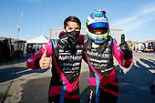 #86 Meyer Shank Racing w/Curb-Agajanian Acura NSX GT3, GTD: Mario Farnbacher, Matt McMurry, Celebration