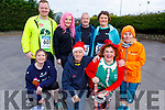 Ready for some fun on their Run Rudolph Run at An Riocht in Castleisland on Sunday.<br /> Kneeling l to r: Margaret Casey, Daniel Massey, Louise Porter and Carmel Foran.<br /> Back l to r: David Goggin, Martha Coffey and George and Joan Glover.