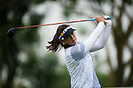 CHON BURI, THAILAND - FEBRUARY 17:  Amy Yang of South Korea tees off on the 11th hole during day two of the LPGA Thailand at Siam Country Club on February 17, 2012 in Chon Buri, Thailand.  Photo by Victor Fraile / The Power of Sport Images