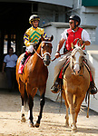 June 26,, 2021: #1 Chess Chief and jockey John Velazquez in the Stephen Foster Grade 2  at Churchill Downs.  Louisville, KY on June 26, 2021.  Candice Chavez/ESW/CSM