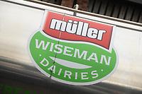 20-10-2021 Muller Wiseman logo on the side of a milk tanker <br />  ©Tim Scrivener Photographer 07850 303986<br />      ....Covering Agriculture In The UK....
