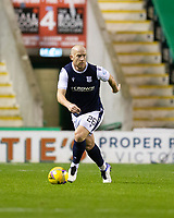 15th November 2020; Easter Road, Edinburgh, Scotland; Scottish League Cup Football, Hibernian versus Dundee FC; Charlie Adam of Dundee looks forward on the ball
