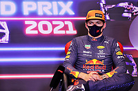 5th June 2021;  F1 Grand Prix of Azerbaijan, press conference for 33 Max Verstappen NED, Red Bull Racing, F1 Grand Prix of Azerbaijan at Baku City Circuit