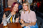 Enjoying the evening in the Fiddler on Friday, l to r: Deidre O'Neill Reed and Toni O'Shea.