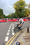Luke Durbridge (AUS) in action during the Men Elite Individual Time Trial of the UCI World Championships 2019 running 54km from Northallerton to Harrogate, England. 25th September 2019.<br /> Picture: Andy Brady | Cyclefile<br /> <br /> All photos usage must carry mandatory copyright credit (© Cyclefile | Andy Brady)