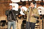 "Kevin Hart and Josh Gad attends the ""The Wedding Ringer"" Presentation at Matadero, Madrid,  Spain. February 05, 2015.(ALTERPHOTOS/)Carlos Dafonte)"