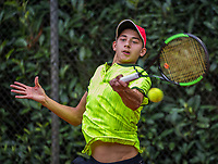 Hilversum, Netherlands, August 9, 2017, National Junior Championships, NJK, Amadatus Admiraal<br /> Photo: Tennisimages/Henk Koster