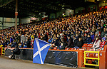 Scotland fans at Pittodrie