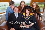 Siobhan Griffin from Ballymac, graduating online from the Facility of Science Graduation 2020 from IT Sligo on Thursday as she was conferred with a Masters in BioPharmaceutical Science. Seated: Anthony and Siobhan Griffin.<br /> Back l to r: Luke, Rachel and Shonagh Griffin.