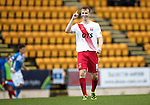 St Johnstone v Kilmarnock…15.10.16.. McDiarmid Park   SPFL<br />Scott Boyd celebrates his goal<br />Picture by Graeme Hart.<br />Copyright Perthshire Picture Agency<br />Tel: 01738 623350  Mobile: 07990 594431