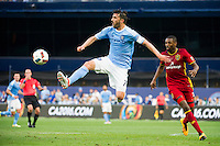 BRONX, NY - Thursday June 02, 2016: New York City FC loses 2-3 to Real Salt Lake at home at Yankee Stadium in regular season MLS play.