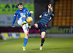 St Johnstone v Ross County…..29.12.19   McDiarmid Park   SPFL<br />Anthony Ralston and Blair Spittal<br />Picture by Graeme Hart.<br />Copyright Perthshire Picture Agency<br />Tel: 01738 623350  Mobile: 07990 594431