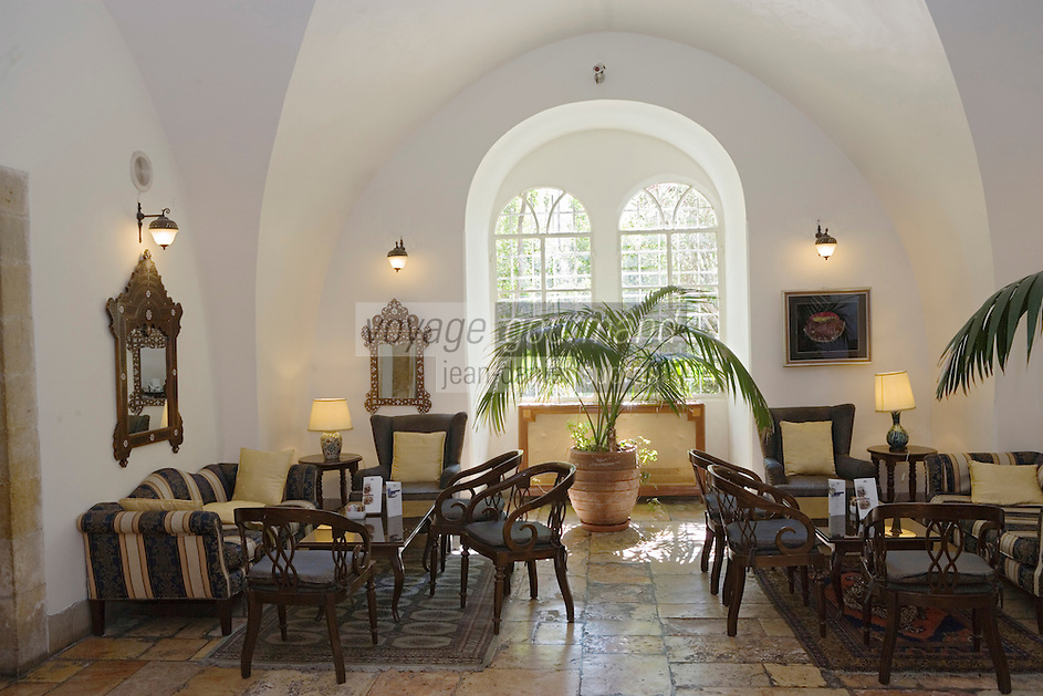 Asie/Israël/Judée/Jérusalem: Restaurant de l'Hotel American Colony - Salle à manger