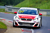 Race of Germany Nürburgring Nordschleife 2016 Free training 2 ETCC 2016 130 Sebastien Loeb Racing Peugeot 308 Racing Cup Teddy Clairet (FRA). © 2016 Musson/PSP. All Rights Reserved.