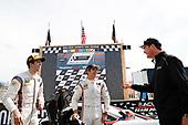#7 Acura Team Penske Acura DPi, P: Helio Castroneves, Ricky Taylor, podium, Tim Cindric