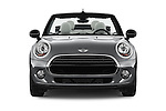 Car photography straight front view of a 2016 MINI Cooper - 2 Door Convertible Front View