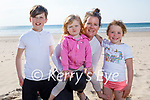 Enjoying a lovely afternoon on Banna beach on Thursday, l to r: Ashley, Lottie, Sinead and Alex Sheehy.