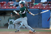 Michigan State Spartans Torsten Boss #7 during a game vs the Akron Zips at Chain of Lakes Park in Winter Haven, Florida;  March 12, 2011.  Michigan State defeated Akron 5-1.  Photo By Mike Janes/Four Seam Images