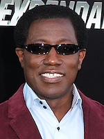 HOLLYWOOD, LOS ANGELES, CA, USA - AUGUST 11: Wesley Snipes at the Los Angeles Premiere Of Lionsgate Films' 'The Expendables 3' held at the TCL Chinese Theatre on August 11, 2014 in Hollywood, Los Angeles, California, United States. (Photo by Xavier Collin/Celebrity Monitor)