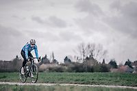 Wout Van Aert  (BEL/Veranda's Willems-Crelan)   during recon of the 116th Paris - Roubaix 2018